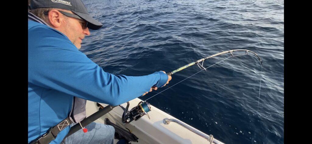 Pêche au Gros le Lavandou