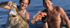 Pêche au Jig Saint-Pierre et Chapon dans le Var