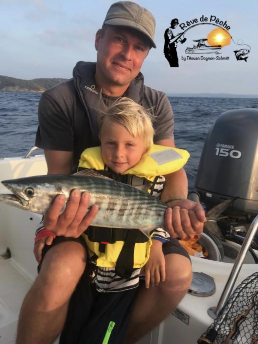 pêche à l'île du Levant